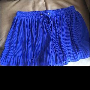Dresses & Skirts - Beautiful Blue Mini Skirt